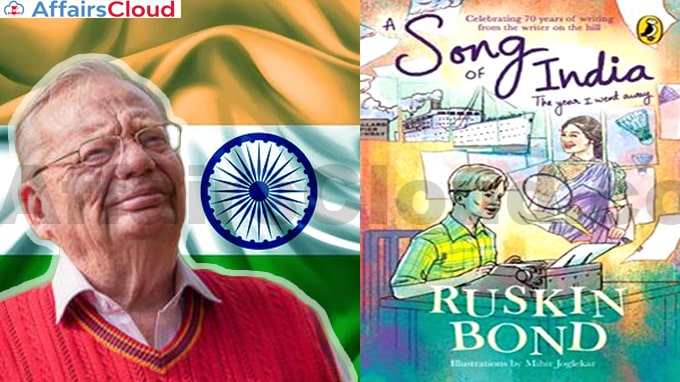 A-new-book-A-Song-of-India-by-Ruskin-Bond-to-be-released