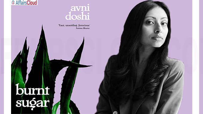 A novel titled Burnt Sugar authored by Avni Doshi