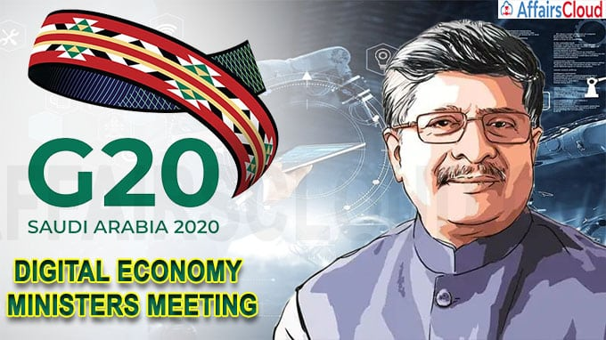 A virtual meeting of G20 Digital Economy Ministers