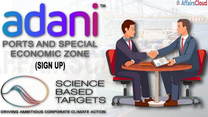 APSEZ is first Indian port to sign up for Science-Based Targets