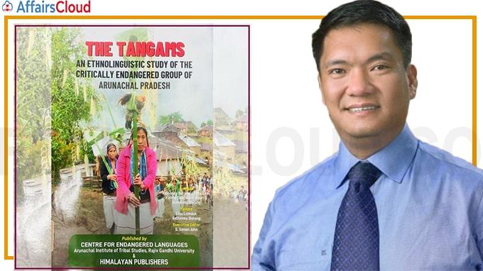 Arunachal Pradesh CM Pema Khandu released a book titled Tangams