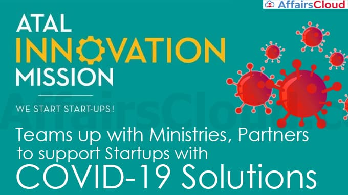 Atal-Innovation-Mission-teams-up-with-Ministries,-Partners-to-support-Startups-with-COVID-19-Solutions