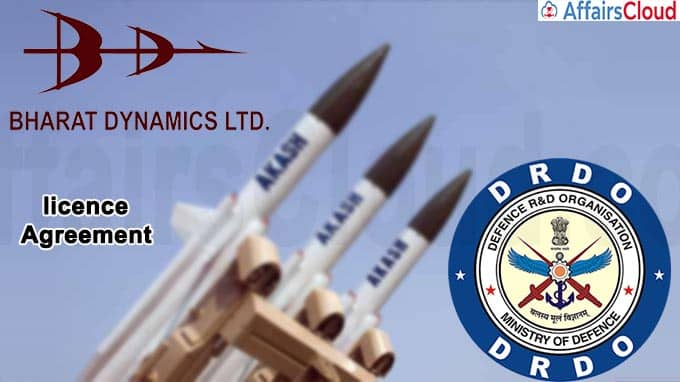 BDL signs licence agreement with DRDO