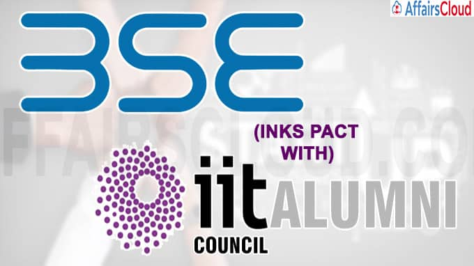 BSE inks pact with IIT Alumni Council