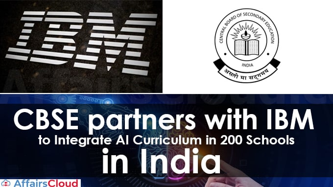 CBSE-partners-with-IBM-to-integrate-AI-curriculum-in-200-schools-in-India