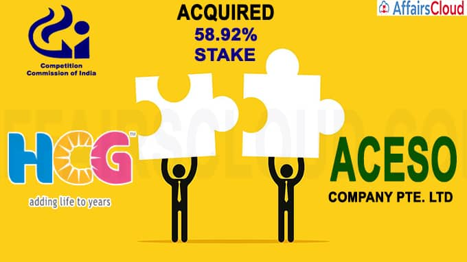 CCI approves acquisition by Aceso in HealthCare Global Enterprises Limited (1)