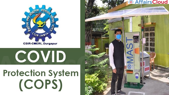 CSIR-CMERI,-Durgapur,-unveils-the-COVID-Protection-System-(COPS)-for-Workplace