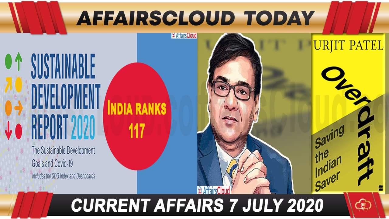 Current Affairs July 7 2020 new