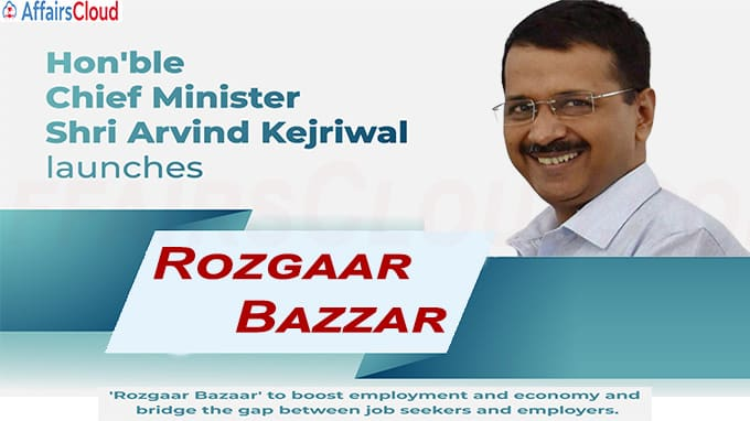 Delhi Government launches Rozgaar Bazzar