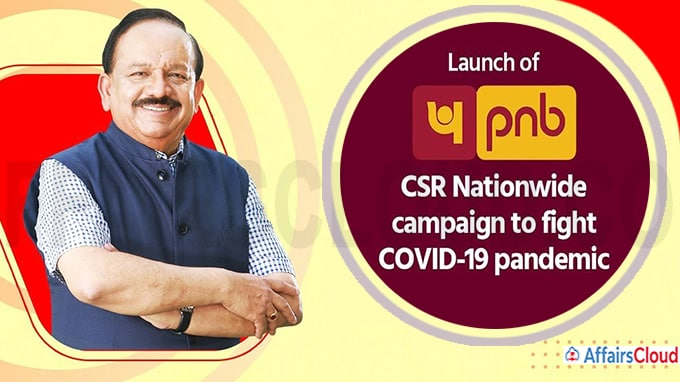 Dr Harsh Vardhan launches PNB's nationwide CSR Campaign