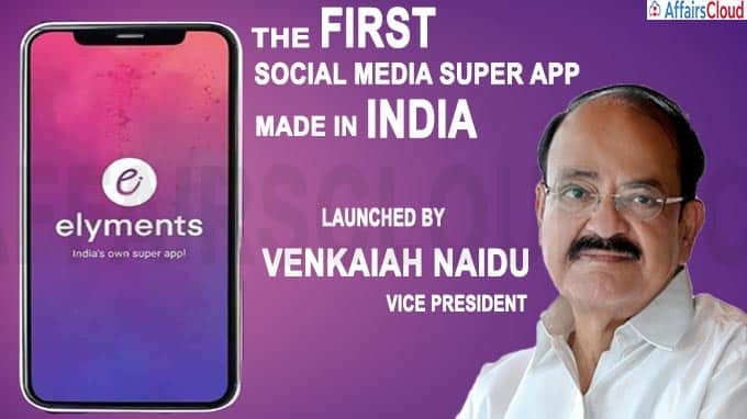 Elyments - India's First Social Media Super App new