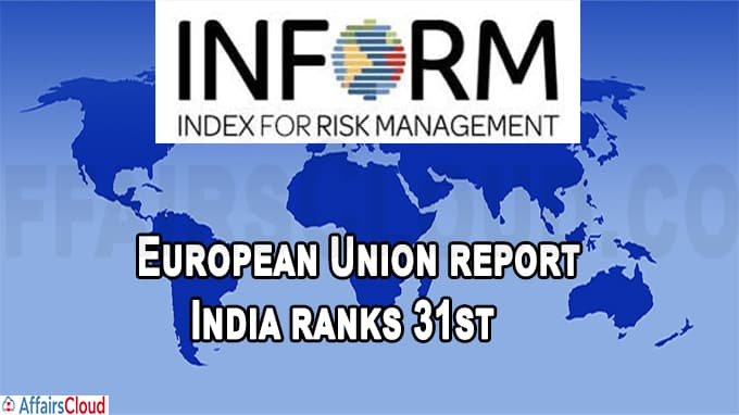 European Union report India ranks 31st