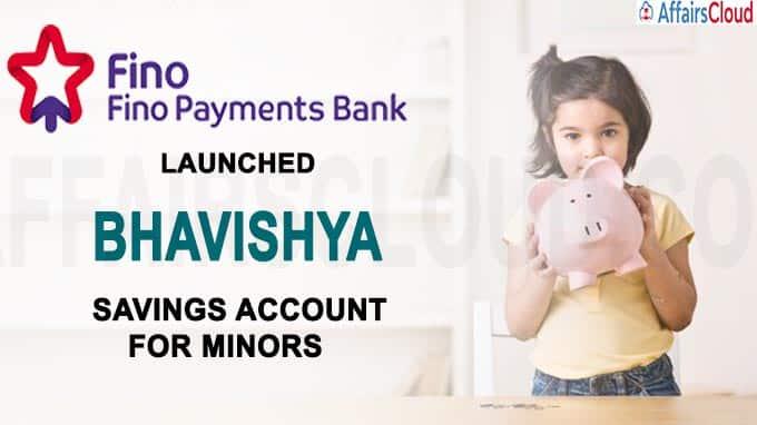 Fino Payments Bank launches 'Bhavishya'