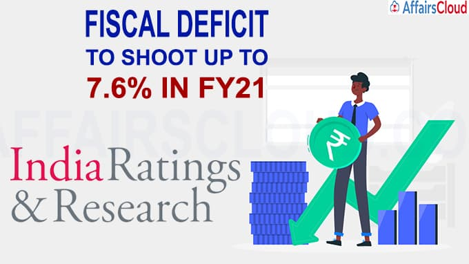 Fiscal deficit to shoot up to 7-6% in FY21