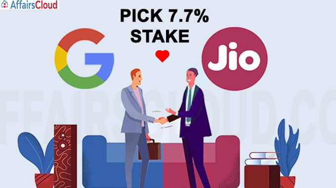 Google to pick 7-7 pc stake in Jio