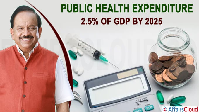 Govt aims to increase public health expenditure