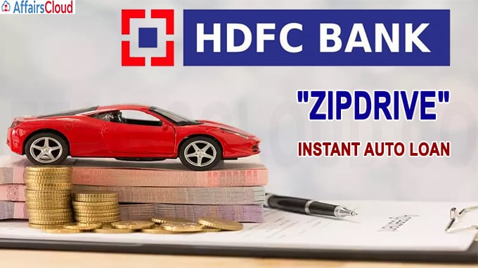 HDFC Bank launches instant auto loan