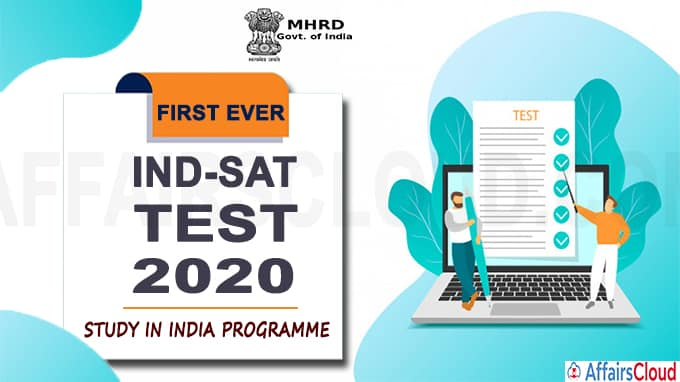 HRD Ministry conducts first ever Ind-SAT Test 2020