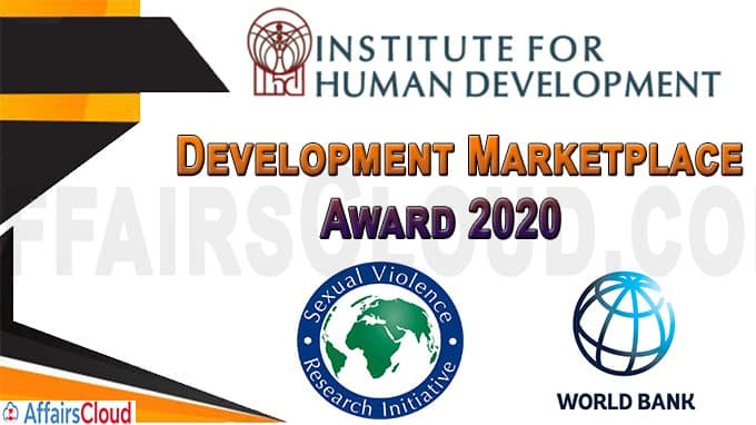 IHD India Receives Development Marketplace Award 2020