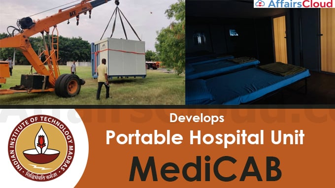 IIT-Madras-incubated-startup-develops-a-portable-hospital-unit-'MediCAB'