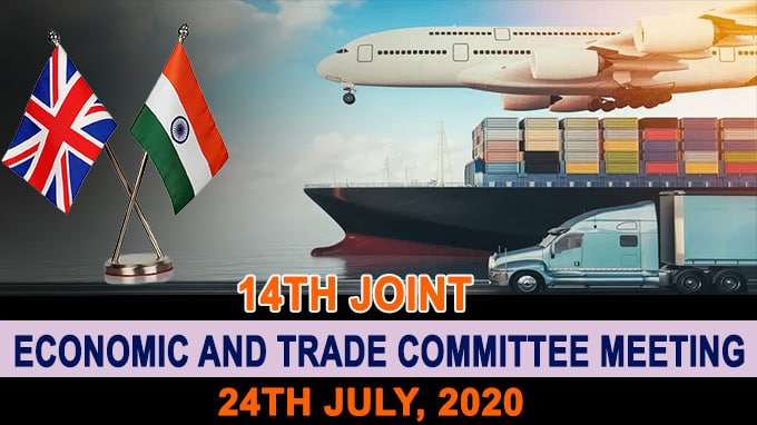 INDIA-UK 14th Joint Economic and Trade Committee meeting
