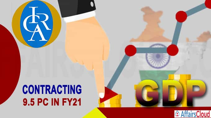 Icra sees India's GDP contracting