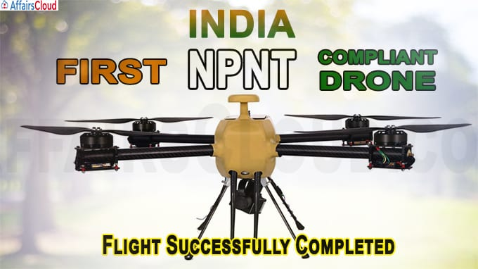 India's First NPNT Compliant Drone Flight Successfully