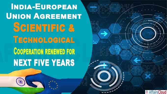 India-European Union Agreement on Scientific and Technological new