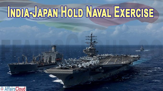 India, Japan Hold Naval Exercise