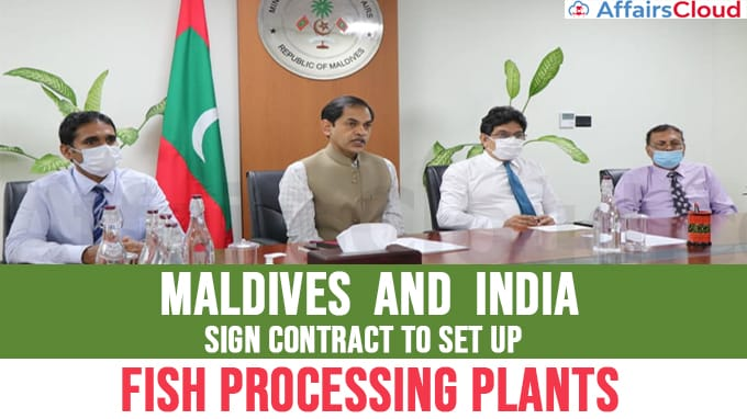 India,-Maldives-sign-contract-for-setting-up-Neighbourhood-Fish-Processing-Plants
