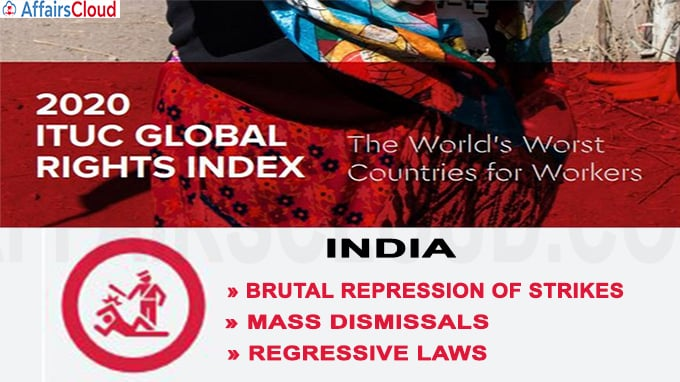India Ranks Among 10 Worst Countries For Working People