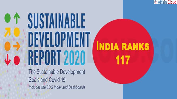 India ranks 117 in Sustainable Development Index