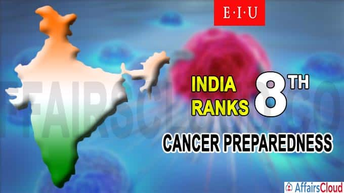India ranks eighth for cancer preparedness