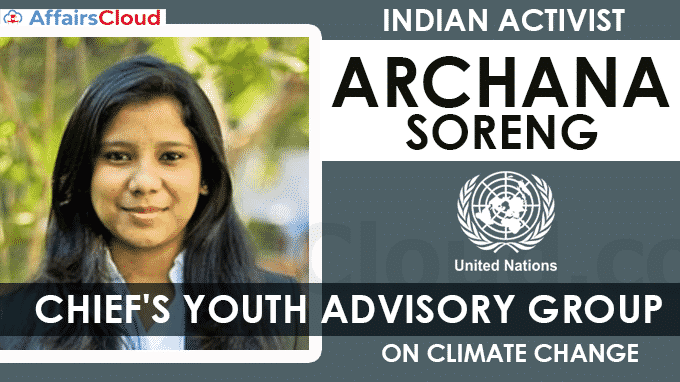 Indian-Activist-Archana-Soreng-Joins-UN-Chief's-Youth-Advisory-Group-On-Climate-Change