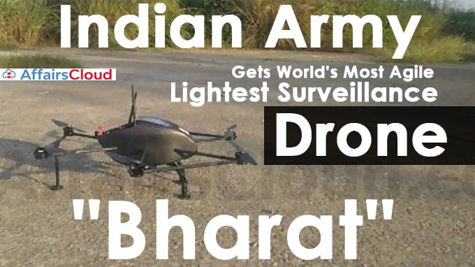 Indian-Army-Gets-World's-Most-Agile,-Lightest-Surveillance-Drone-Bharat-To-Monitor-China-Border