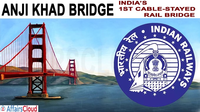 Indian Railways' 1st cable-stayed rail bridge