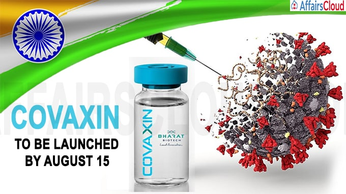 India's First Coronavirus Vaccine Covaxin