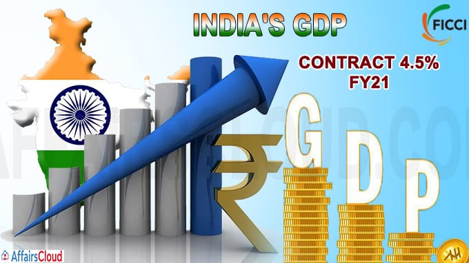 India's GDP growth in FY21
