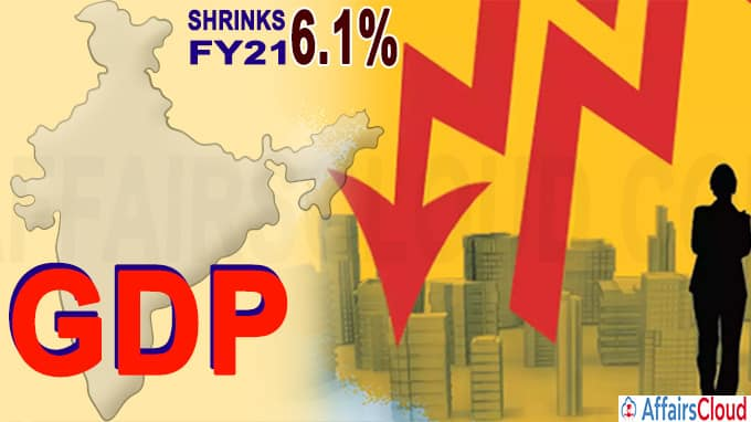 India's GDP to contract 6-1 pc in FY21 Nomura