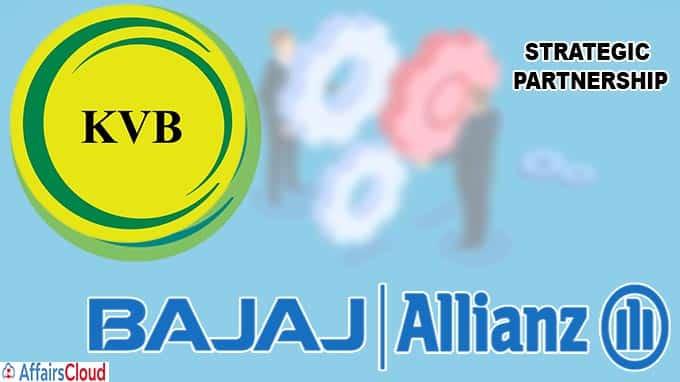 Karur Vysya Bank in strategic partnership with Bajaj Allianz
