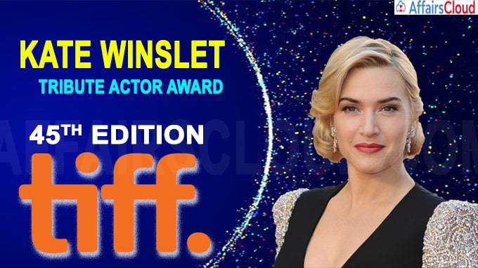 Kate Winslet to receive Tribute Actor Award