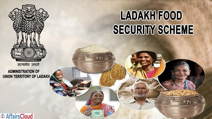 Ladakh food security scheme