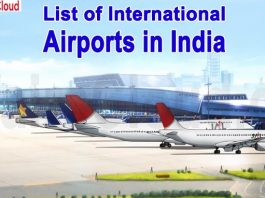 List of International Airports in India