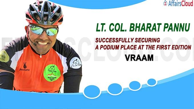 Lt Col Bharat Pannu creates history