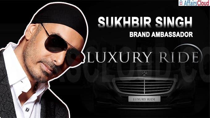 Luxury Ride signs Sukhbir Singh