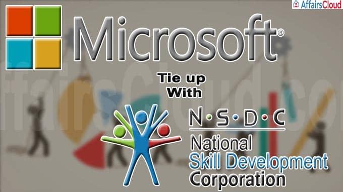 Microsoft, NSDC tie up to provide digital skills