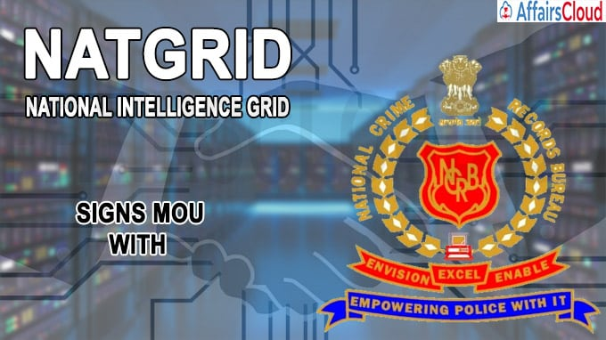 NATGRID signs MOU with NCRB