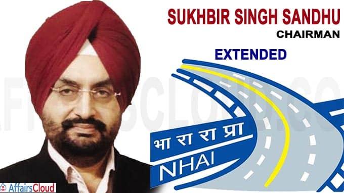 NHAI chairman Sukhbir Singh Sandhu