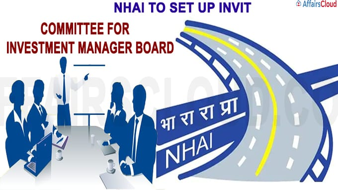NHAI to set up InvIT