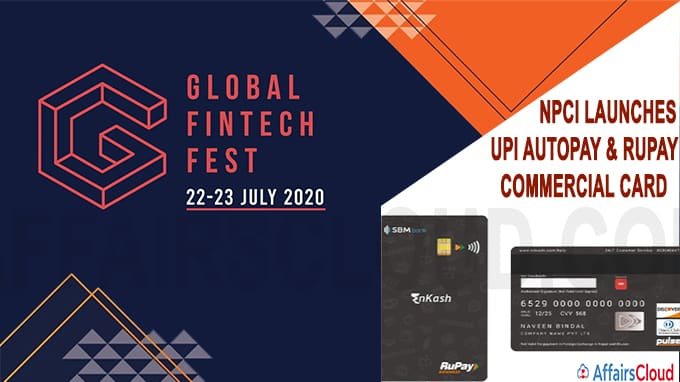 NPCI launches UPI AutoPay & RuPay commercial card